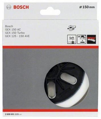 Снимка на Гумена плоча;мека, P150 mm;2608601115