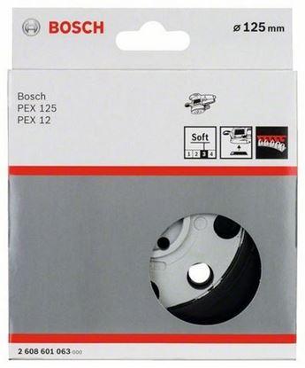 Снимка на Гумена плоча;мека, 125 mm;2608601063