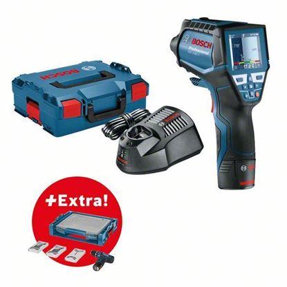 Снимка на Термодетектор GIS 1000 C Professional 1,5 Ah Li-ion, L-BOXX+ Акумулаторен винтоверт GSR 12V-15 в I-boxx и 39 проф.консуматива