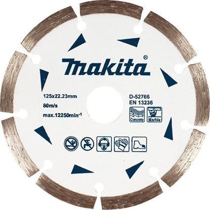 Снимка на Диамантен диск за сухо рязане на мрамор и бетон Makita;D-52766