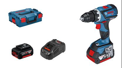 Снимка на Акумулаторен винтоверт GSR 18V-60 C Professional,2х5.0Ah,L-Boxx 136,06019G1100