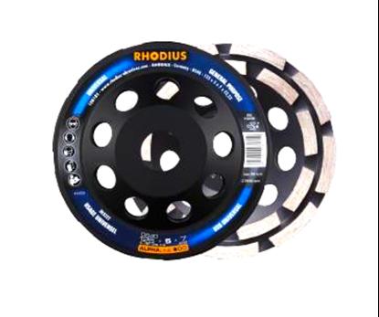 Снимка на Диамантен диск Rhodius ALPHAline DS40,125 x 7 x 5 x 22.23;303222