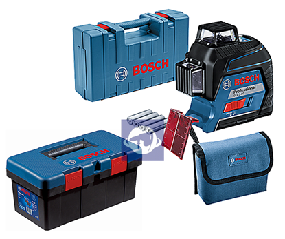 Снимка на Bosch GLL 3-80 линеен лазер + Bosch Tool Box
