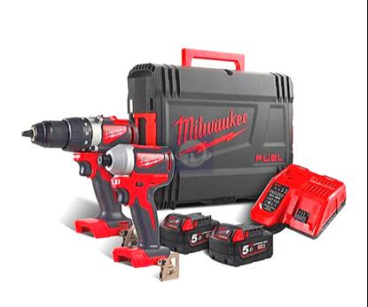 Снимка на Milwaukee сет M18 BLPP2B2-502X,2 батерии 5,0Ah;4933464594