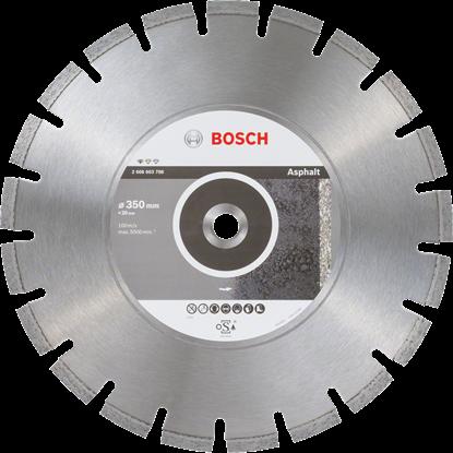 Снимка на  Диамантен диск за рязане Standard for Asphalt;350 x 20,00 x 3,2 x 10 mm;2608603788