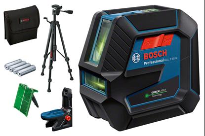 Снимка на НОВО!Комбиниран лазер GCL 2-50 G,Въртяща се стойка RM 10 Professional,Строителен статив BT 150 Professional,0601066M01