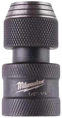 Снимка на Адаптер Milwaukee ShW1/2Sq-1/4Hex,4932471828