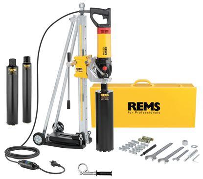 Снимка на Диамантено-пробивна машина REMS Picus SR Set 62 - 82 - 132 Titan,183023