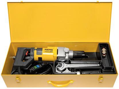 Снимка на Диамантено-пробивна машина REMS Picus S1 Basic-Pack,180010
