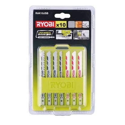Снимка на Ножчета за прободен трион Ryobi RAK10JSB,10броя,5132002702