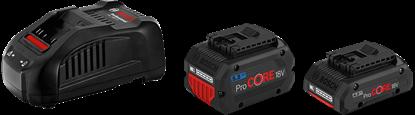 Снимка на Стартов сет Bosch 1 x ProCORE18V 4.0Ah + 1 x ProCORE18V 5.5Ah + GAL 1880 CV,1600A0214A