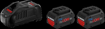Снимка на Стартов комплект Bosch 2 x ProCORE18V 5.5Ah + GAL 1880 CV,1600A0214C