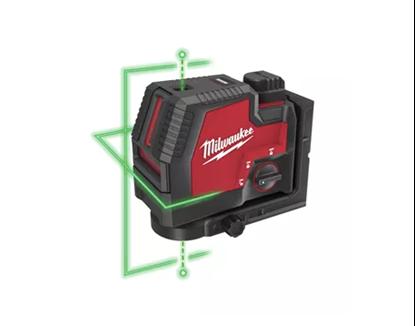 Снимка на Акумулаторен лазерен нивелир Milwaukee L4CLLP-301C USB 3.0Ah с кръстосани линии и отвесни точки,4933478099