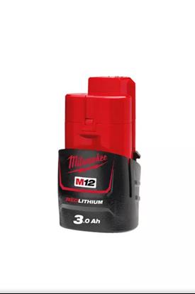 Снимка на Акумулаторна батерия Milwaukee M12B3,12V/3Ah,4932451388