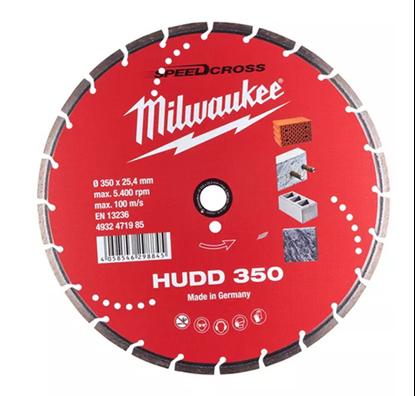 Снимка на Диамантен диск Milwaukee HUDD 350mm,4932471985